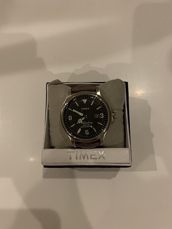 [タイメックス]TIMEX NEW ウォーターベリーデイト 40mm ブラックダの商品画像
