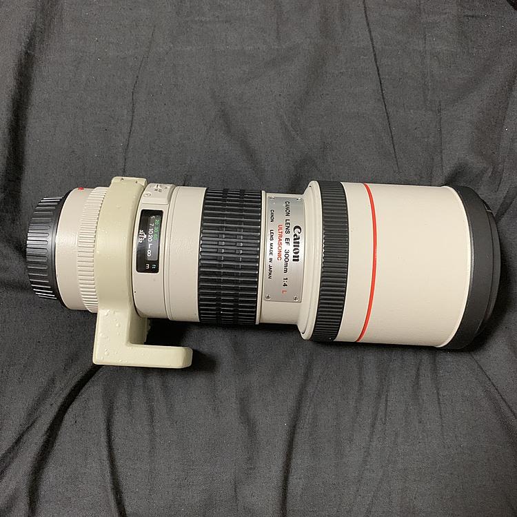 canon ef300mm 白レンの商品画像
