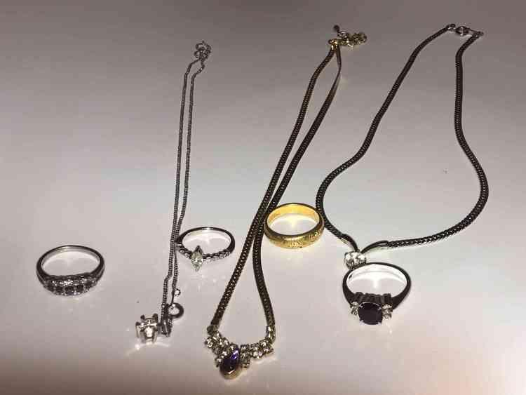 指輪、ネックレスの商品画像