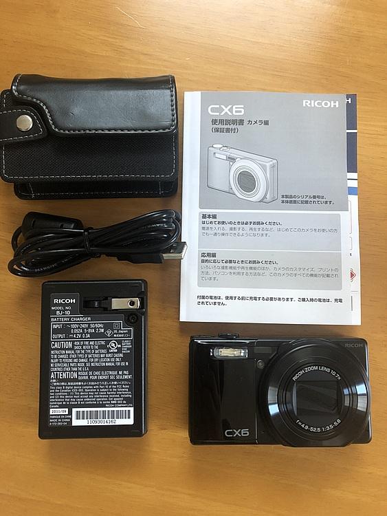 RICOH CX6 ブラックの商品画像