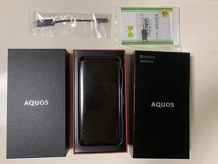 AQUOS ZERO 801SH SIMロック解除済みの商品画像