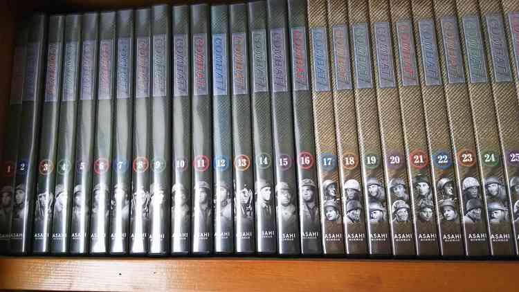 コンバットDVDコレクション1~50巻の商品画像